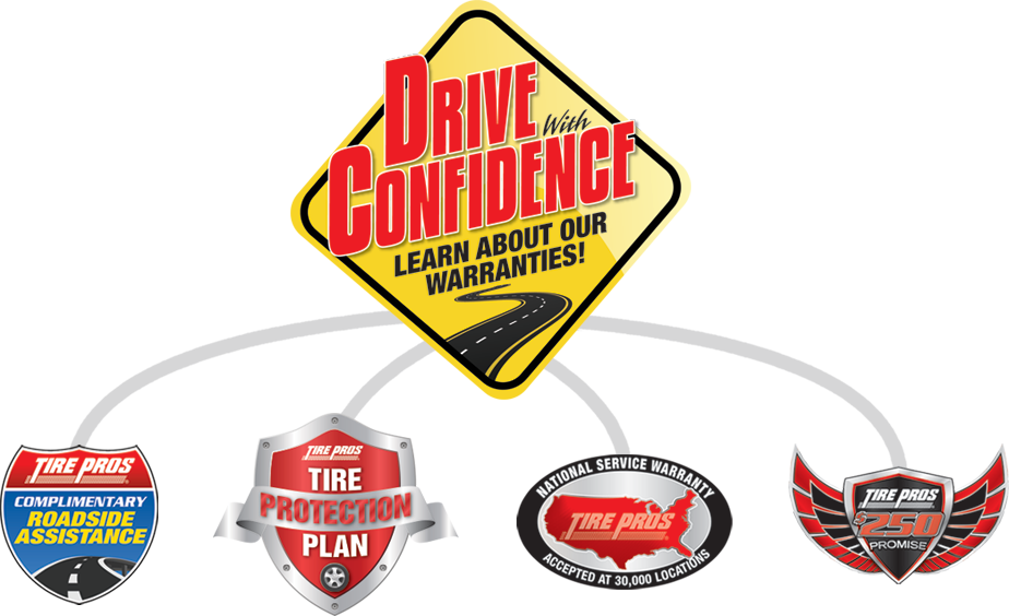 Tire Pros Drive With Confidence Guarantee at KT Tire & Service Tire Pros in Leoti, KS 67861